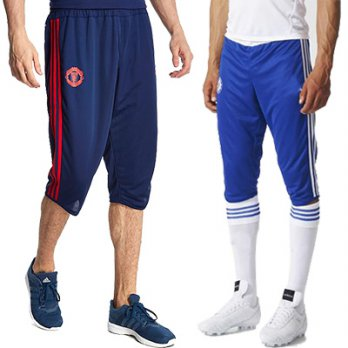 [3/4TRAINING PANTS] ★CELANA TRAINING 3/4 SPORTS TRAINING SOCCER PANTS / CLIMACOOL DRI-FIT/POLYSTER