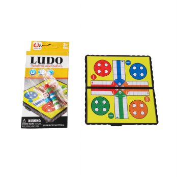 Mainan Magnetic Ludo Game Chess
