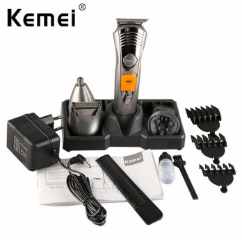 Kemei Rechargeable 7 In 1 Profesioanal Men's Grooming Kit-Km 580A