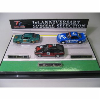[Sale] Tomy Tomica Limited 1st Anniversary Special Selection (3models)