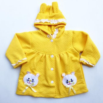 twin kitty jaket anak jaket bayi mantel anak mantel