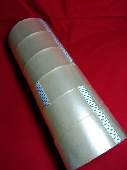 Glotape Lakban OPP 48mm x 100Y Transparant ( 3 roll / 3 pcs )