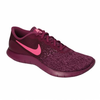 Sepatu Olahraga Senam Lari Gym Fitness Nike Flex Contact Women's Running Shoes- Maroon 908995600
