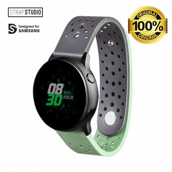 Samsung Rubber Strap Watch Active 20 mm - Black,Khaki