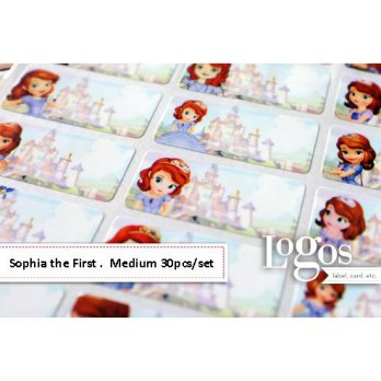 Sophia Sticker MEDIUM Name Label