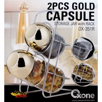 Oxone Toples 2pc Gold Capsule (OX-351R)