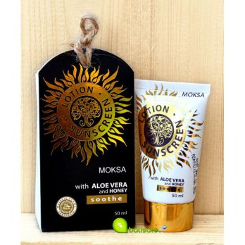 [Moksa] Sunscreen Lotion 50ml