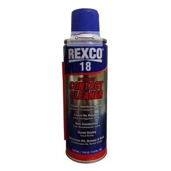 Pembersih Panel Komputer / Motherboard / Kumparan Dinamo - REXCO 18 Specialist Contact Cleaner 220ml