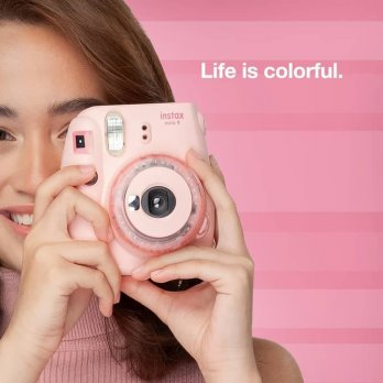 Instax Mini 9 Clear Pink