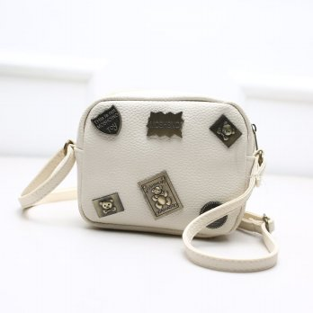 Tas Wanita Handbags Shoulder Ransel Import GT21441 Rice White