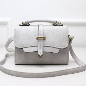 Tas Wanita Handbags Shoulder Ransel Import GT21436 Gray