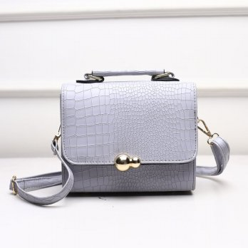 Tas Wanita Handbags Shoulder Ransel Import GT21427 Gray