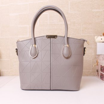 Tas Wanita Handbags Shoulder Ransel Import GT21390SN Gray