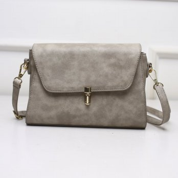 Tas Wanita Handbags Shoulder Ransel Import GT21399 Light Gray