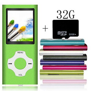 [macyskorea] Tomameri Portable MP4 / MP3 Player with a 32 GB Micro SD Card, MP3 Player wit/12403056
