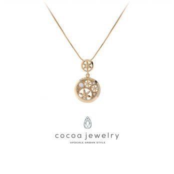 Cocoa Jewelry Kalung Blooming Flower-No Box