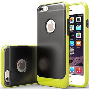 [holiczone] iPhone 6 Case, Caseology [Frostback Series] Translucent Matte Bumper [Lime Gre/328868