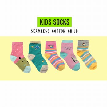 [MAGIC] 1+1+1 Pair Korean Children Socks