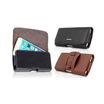 [holiczone] Kingsource (TM) iPhone 6 (4.7)/iPhone 6S (4.7) genuine Leather Holster Pouch C/206352