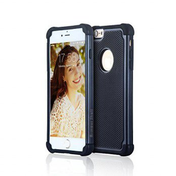 [holiczone] Armour Shell Best iPhone 6 / 6s Bumper Case (Black), Apple Protective Slim Pho/1674784