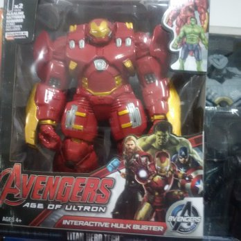 Iron Man Hulkbuster Avenger Moveable