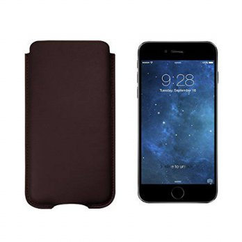 [holiczone] Lucrin - Pouch for iPhone 6 Plus/6s Plus - Burgundy - Smooth Leather/225723