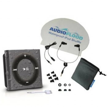 [holiczone] Latest Generation Space Gray Apple iPod Shuffle Bundle Waterproof by AudioFloo/322954