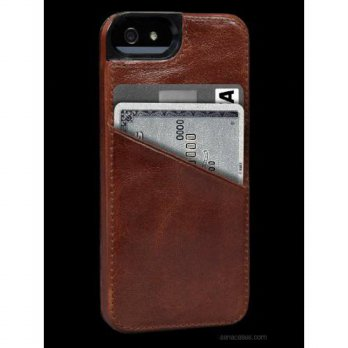 [holiczone] Sena Cases Lugano Wallet for iPhone 5 - Retail Packaging - Tan/158434