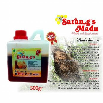 MADU HUTAN (Raw Honey) 0.5 kg
