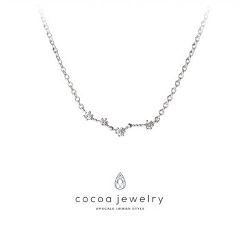 Cocoa Jewelry Pisces Star Silver Color