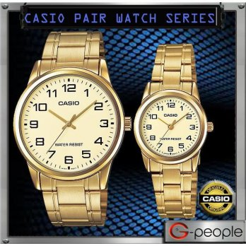 Jam Tangan Casio Original Couple Harga Sepasang V001G-9 Casio Couple