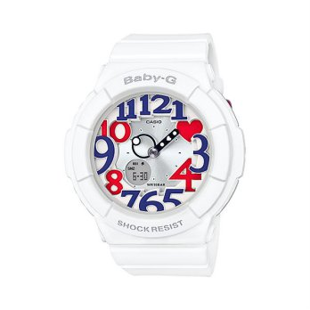 Jam Tangan Wanita Sport Casio Baby-G Original World Time BGA-130TR-7B