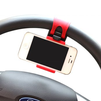 Lazypod Setir Mobil Car Steering Mount Holder for Smartphone