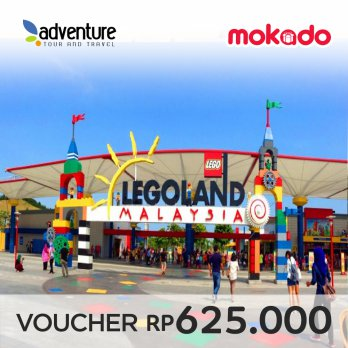 LEGOLAND® Malaysia Theme Park Admission E-Ticket (Adult)