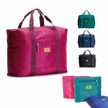 Tas Lipat Tas Tambahan NEW NORMAL - Foldable Travel Bag Luggage Organizer Tas Lipat