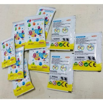 REFILL SABUN MAINAN BUBBLE GUN 5 PCS