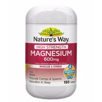 Natures Way High Strength Magnesium 600 Mg - 150 Tablet