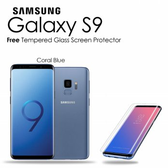 Samsung Galaxy S9 64GB/4GB Blue - Free Tempered Glass Premium