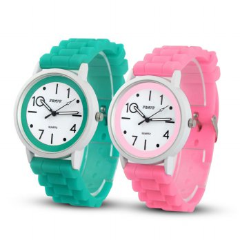 Women Silicone Rubber Jelly Gel Quartz Casual Sports Wrist Watch GRATIS ONGKOS KIRIM