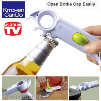 7 IN 1 CAN OPENER / 7 in 1 pembuka kaleng As Seen On TV