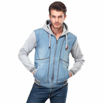 INFICLO | SWEATER / JAKET JEANS PRIA - SPI 370
