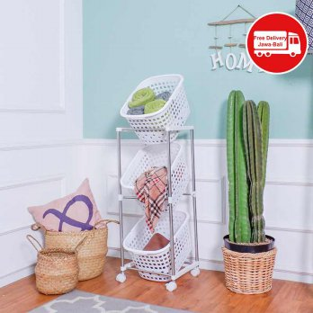 THE OLIVE HOUSE - LAUNDRY BASKET 3 SUSUN AH-43