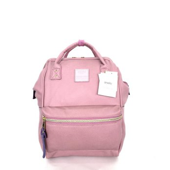 Anello Original Backpack PU Leather Small - Lavender
