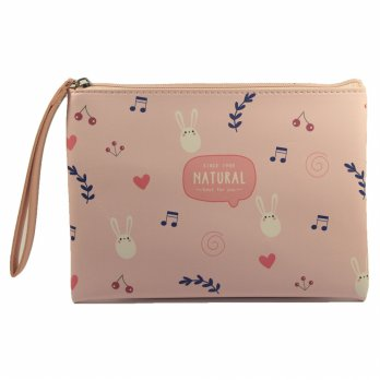 COSMETIC POUCH - MAKEUP TRAVEL POUCH / IMPORT - MEL 1006
