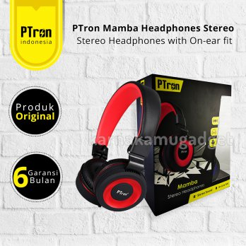 PTron Mamba Headphones Stereo with On-ear fit