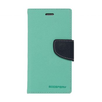Mercury Fancy Diary Samsung Galaxy S5 I9600 - Mint/Biru Laut