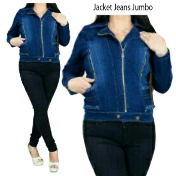 SB Collection Atasan Jacket Jumbo Outer Jeans