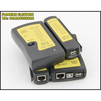 Networking Ethernet Cable Tester USB RJ45 RJ11