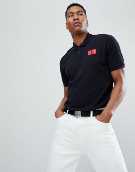 Calvin Klein Jeans Polo With Chest Logo Patch