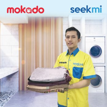 SEEKMI  Voucher Laundry Reguler 5kg